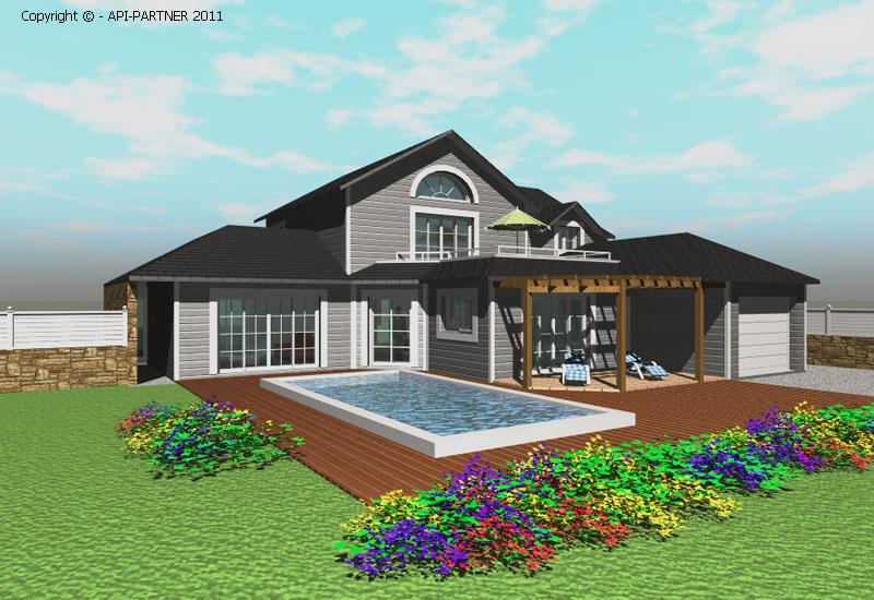 Maisons à ossature bois  Réalisations API Partner