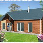 Maison à ossature bois © API Partner