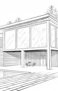 Plan de votre future maison contemporaine